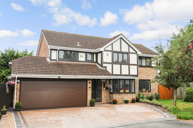 Thumbnail Detached house for sale in Crispin Close, Horton Heath, Eastleigh