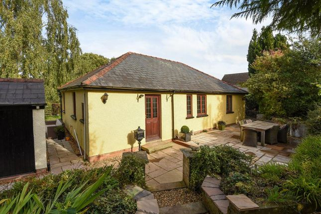 Thumbnail Detached bungalow for sale in Hazelmere, Cwmcrawnon Road, Llangynidr, Powys NP8,