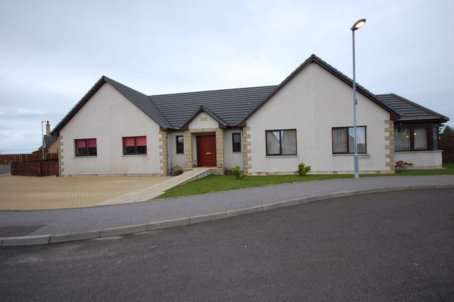Thumbnail Detached bungalow for sale in Steading View, Lossiemouth