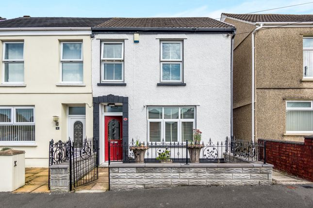 Thumbnail Semi-detached house for sale in Ffos Yr Efail Terrace, Pontarddulais, Swansea