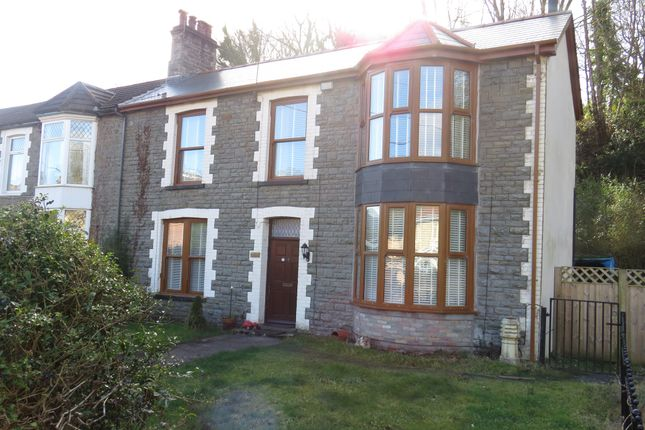 Thumbnail Semi-detached house for sale in Barry Road, Pontypridd
