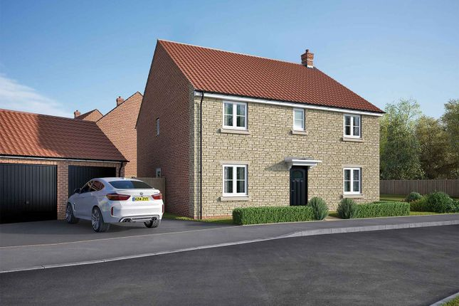 "Thumbnail Detached house for sale in ""The Attingham"" at Lincoln Road, Navenby, Lincoln"