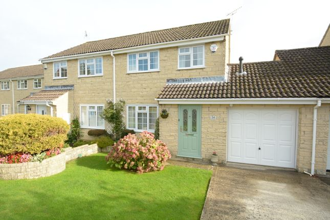 Thumbnail Semi-detached house for sale in Palairet Close, Bradford-On-Avon
