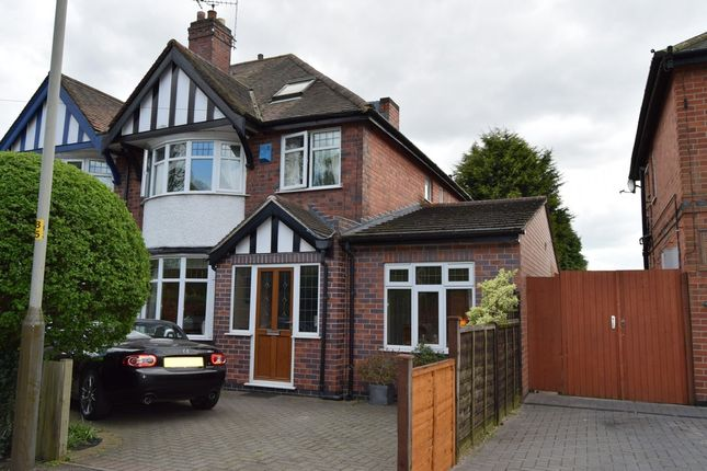 Thumbnail Semi-detached house for sale in Gipsy Lane, Humberstone, Leicester