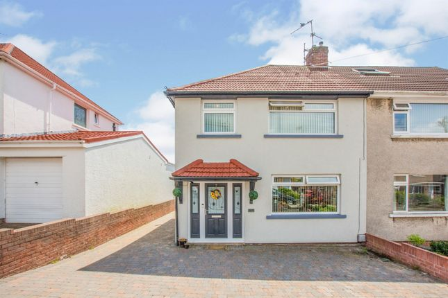 3 bed semi-detached house for sale in Cornfield Close, Llanishen, Cardiff CF14