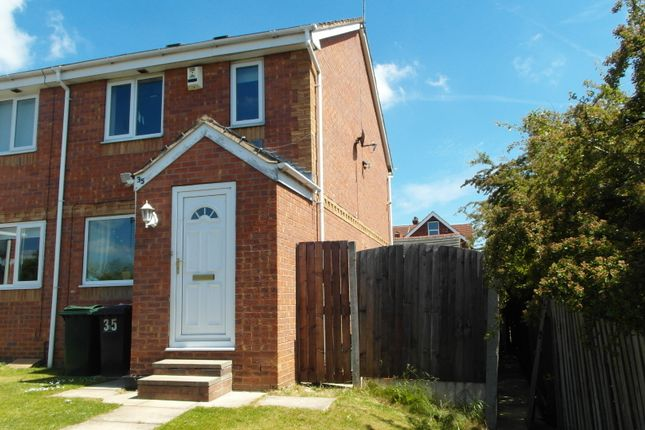 Thumbnail Semi-detached house to rent in Bishopsgarth Avenue, Doncaster