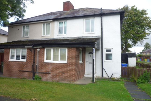 Thumbnail Semi-detached house to rent in The Crescent, Seghill, Cramlington