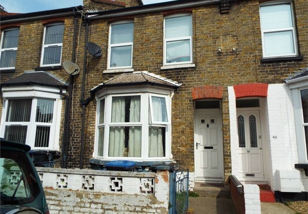 Thumbnail Terraced house for sale in Flora Road, Ramsgate