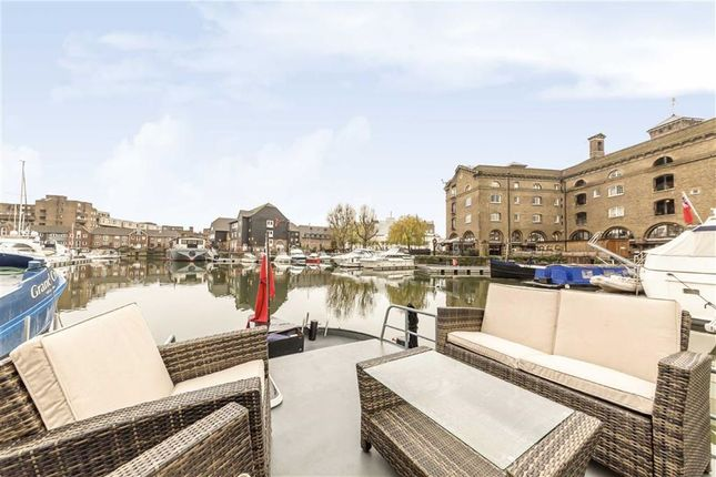 Thumbnail Houseboat for sale in East Smithfield, London