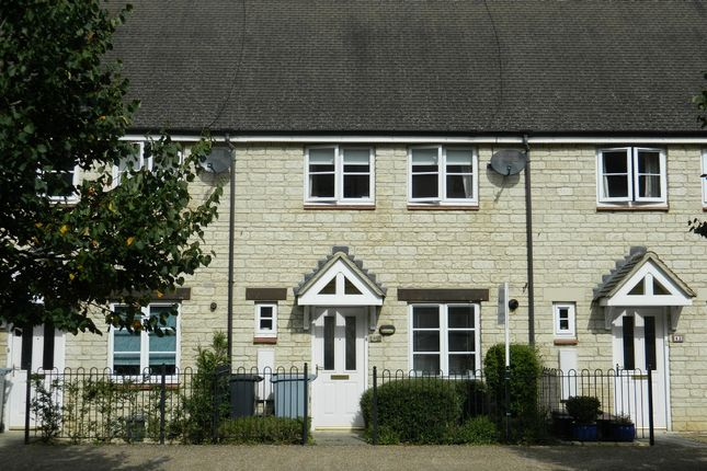 Thumbnail Terraced house to rent in Harvest Way, Witney