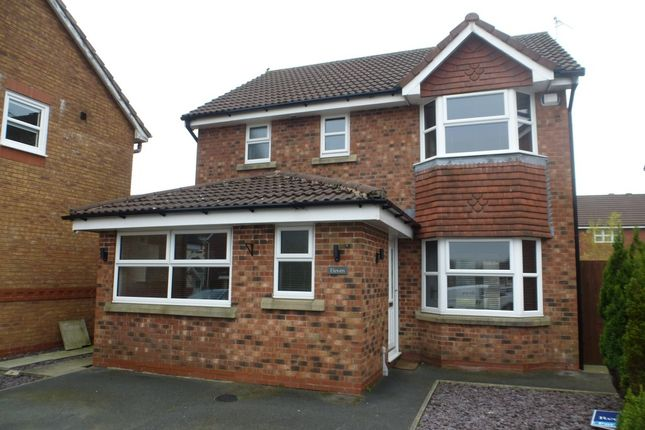 Thumbnail Detached house to rent in Peacock Hill Close, Grimsargh, Preston