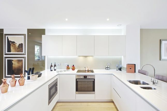 Thumbnail Town house for sale in The Crescent, Meridian Gate, Kidbrooke Village