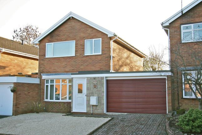 Thumbnail Detached house for sale in Boningale Close, Stirchley, Telford