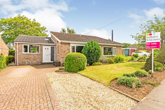 Thumbnail Detached bungalow for sale in Winchester Drive, Washingborough, Lincoln