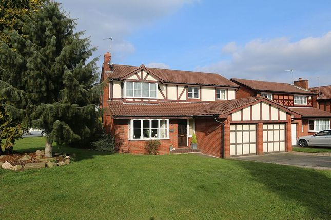 Thumbnail Detached house for sale in Underwood Close, Macclesfield, Cheshire