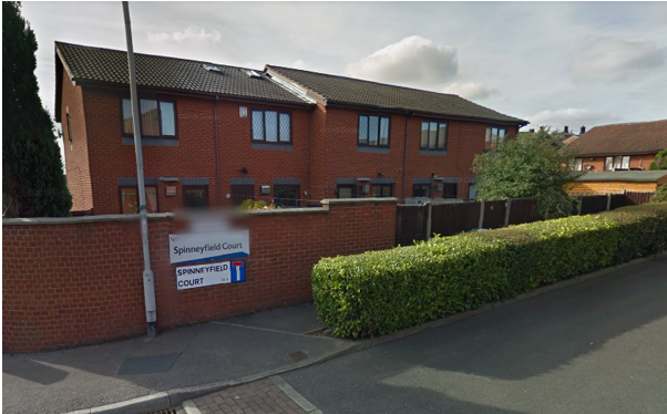 Thumbnail Flat to rent in Spinneyfield Court, Richmond Hill, Leeds