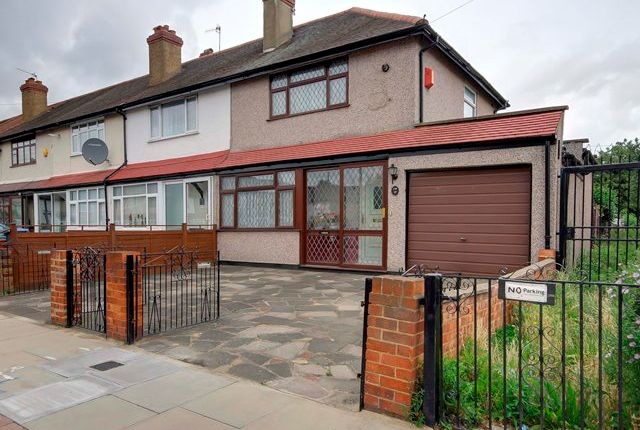 Thumbnail End terrace house for sale in Middleham Road, Edmonton