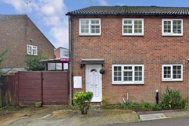 Thumbnail Semi-detached house for sale in Estcots Drive, East Grinstead, West Sussex
