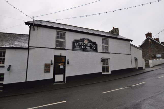 Thumbnail Property for sale in The Lamb Inn, Llanboidy, Whitland