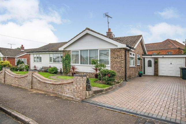 Thumbnail Detached bungalow for sale in Kendall Close, North Walsham