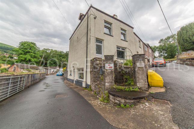 Thumbnail End terrace house for sale in Church Lane, Govilon, Abergavenny