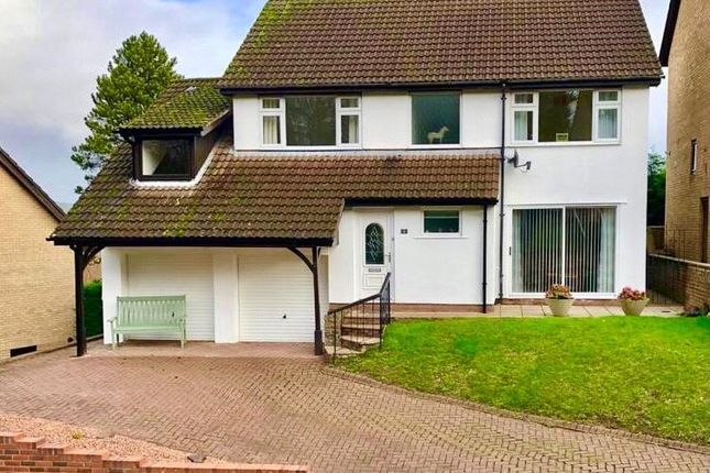 Thumbnail Detached house for sale in Hollybush Heights, Cyncoed, Cardiff