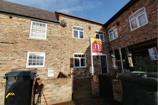 Thumbnail Terraced house to rent in Hennessey Court, Southfield Road, Thorne, Doncaster