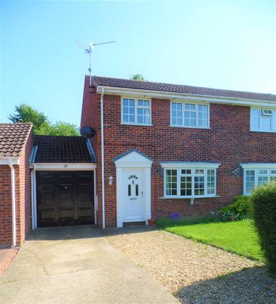 Thumbnail Semi-detached house to rent in Swift Close, Deeping St. James, Peterborough