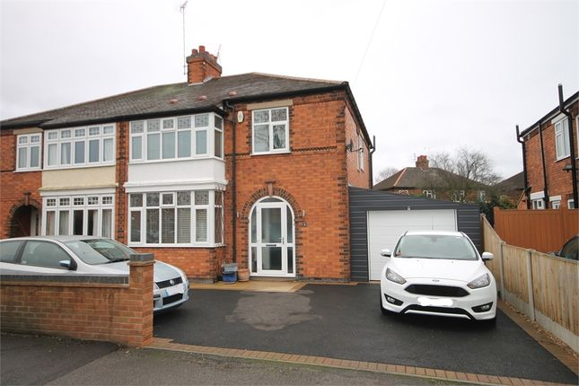 Thumbnail Semi-detached house for sale in Windsor Road, Newark, Nottinghamshire.