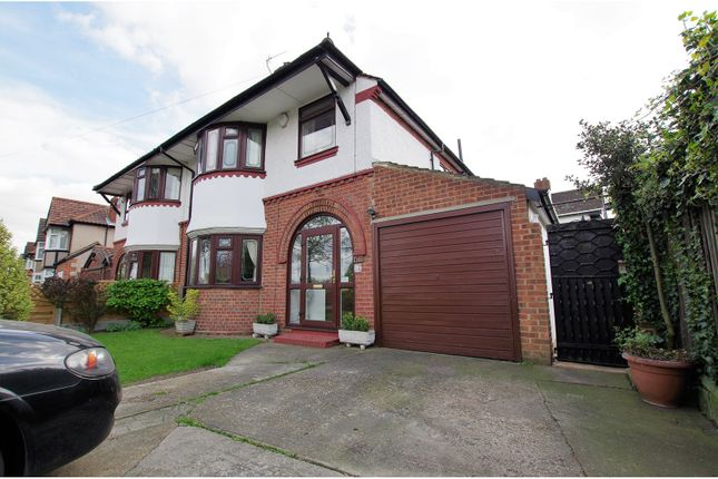 Thumbnail Semi-detached house for sale in Wricklemarsh Road, London