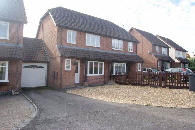 Thumbnail Semi-detached house to rent in Swallowfields, Andover