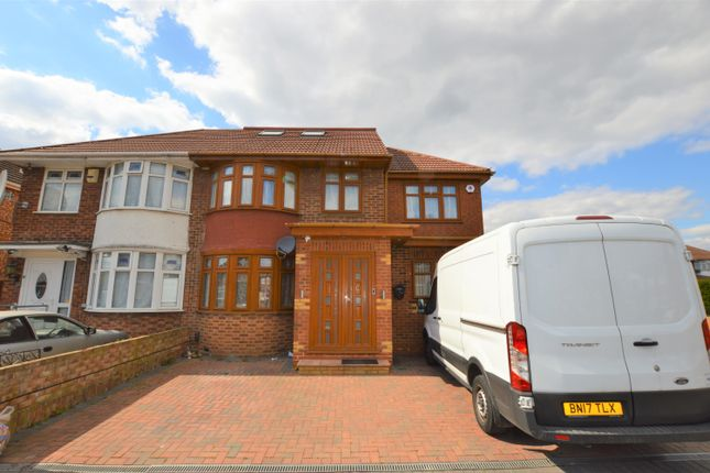 Thumbnail Semi-detached house for sale in Carfax Road, Hayes