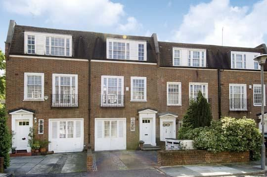Thumbnail Detached house to rent in Marston Close, South Hampstead, London