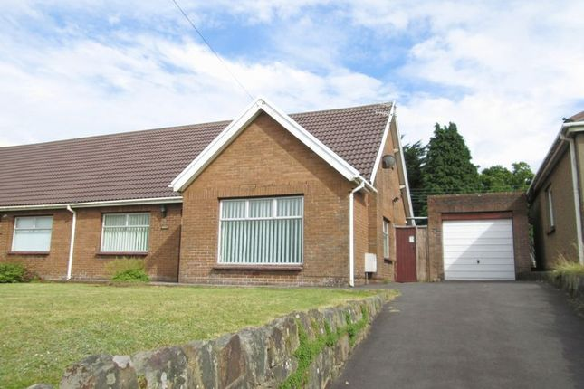Thumbnail Semi-detached bungalow to rent in Bridgend Road, Bryncethin, Bridgend