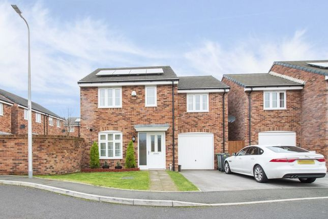 Thumbnail Detached house for sale in Brython Drive, St. Mellons, Cardiff