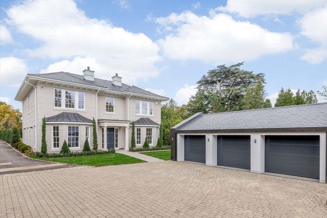 Thumbnail Detached house for sale in Bishopsgate Road, Englefield Green, Egham, Surrey