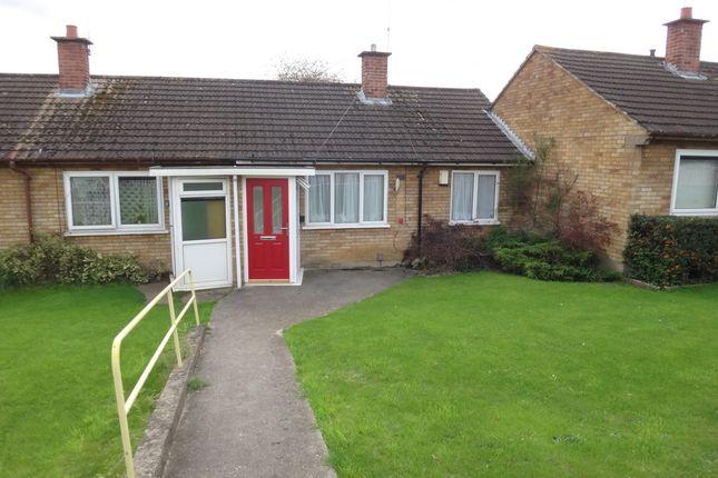 Thumbnail Terraced bungalow for sale in Flamborough Road, Scraptoft, Leicester