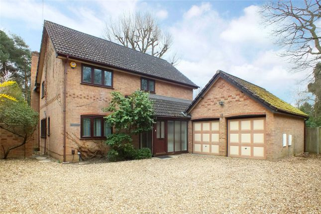 Thumbnail Detached house for sale in Hitches Lane, Fleet