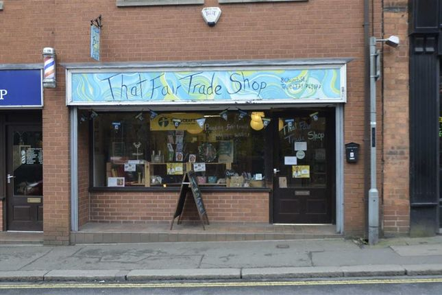 Retail premises to let in Church Street, Ripley, Derbyshire