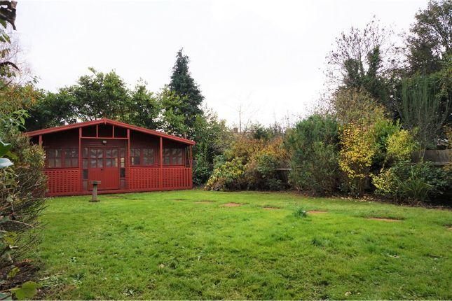 Rear Garden of Cranleigh Gardens, London N21