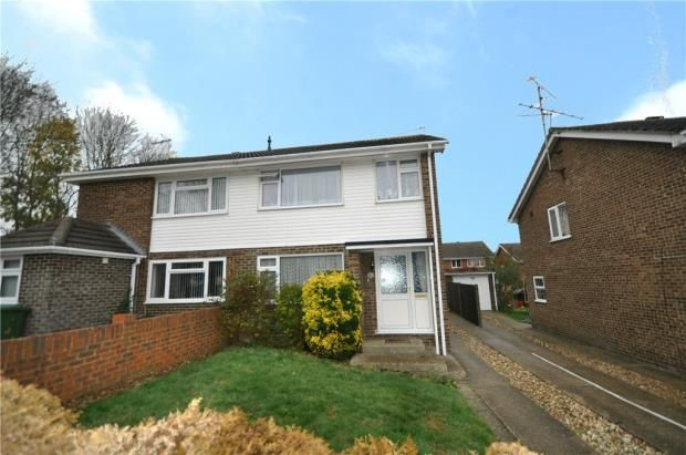 Thumbnail Semi-detached house for sale in Grieg Close, Basingstoke, Hampshire
