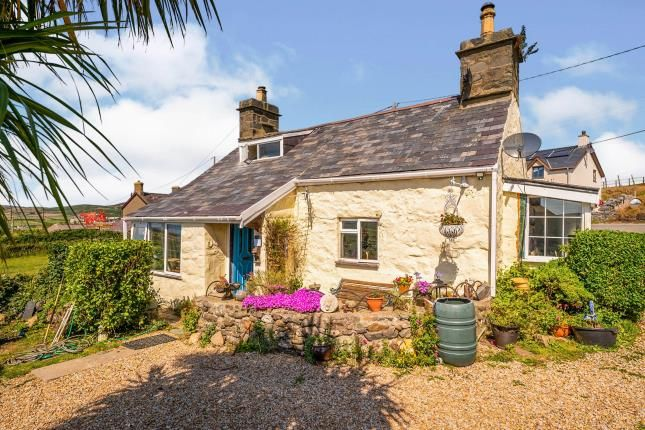 Thumbnail Detached house for sale in Aberdaron, Pwllheli, Gwynedd, .