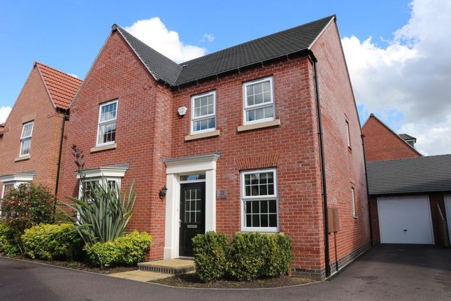 Thumbnail Detached house for sale in Loddington Close, Syston