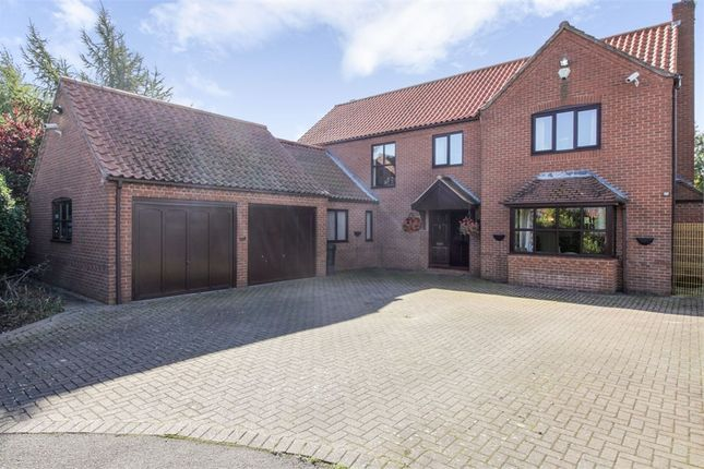 Thumbnail Detached house for sale in Holly Court, Rolleston, Newark, Nottinghamshire