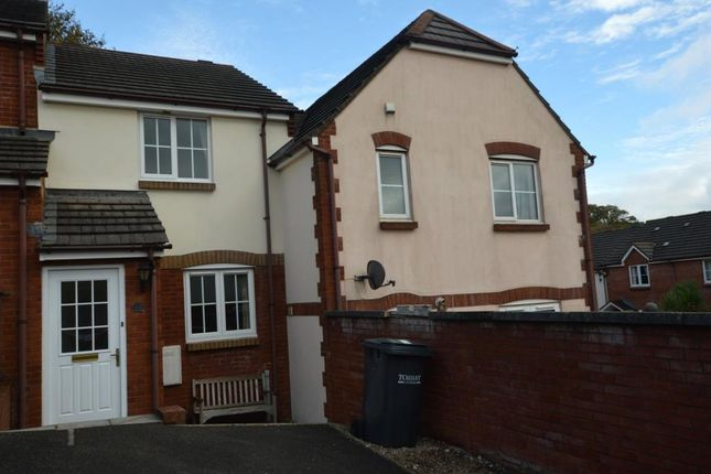 Thumbnail Terraced house to rent in St Kitts Close, The Willows, Torquay, Devon