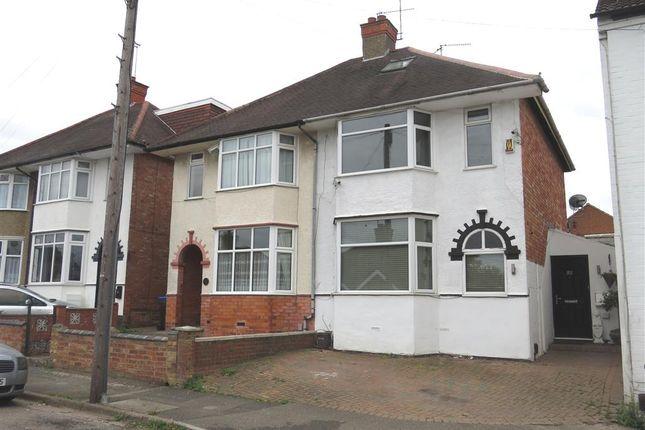 Thumbnail Semi-detached house for sale in Ruskin Road, Kingsthorpe, Northampton