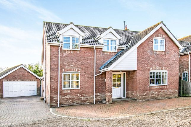 Thumbnail Detached house for sale in Bower Close, Potter Heigham, Great Yarmouth