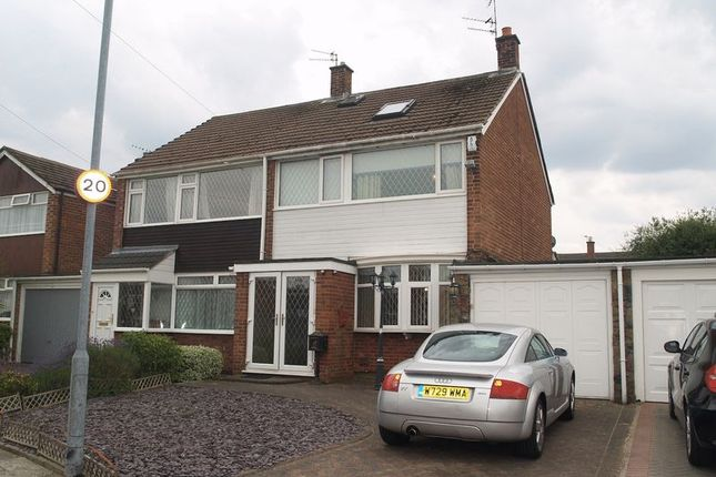 Thumbnail Semi-detached house to rent in Penfold, Maghull, Liverpool