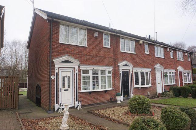 Thumbnail Town house for sale in Westacre, Bucknall, Stoke-On-Trent
