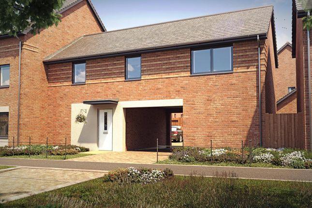 "Thumbnail Semi-detached house for sale in ""Alverton"" at Langaton Lane, Pinhoe, Exeter"